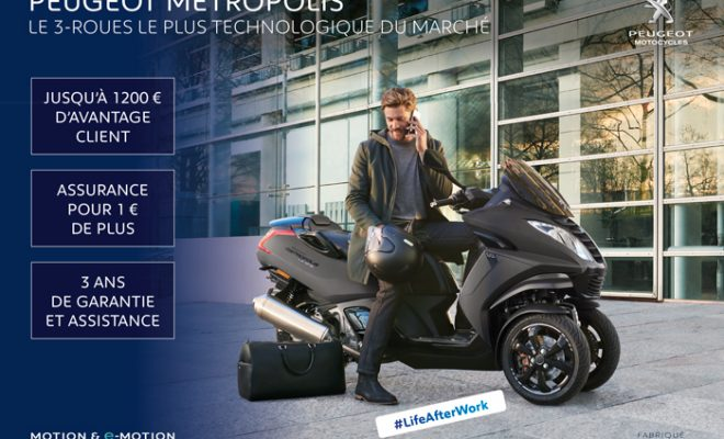 Offre Promo Peugeot Metropolis 400